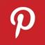 pinterest logo, pinterest icon